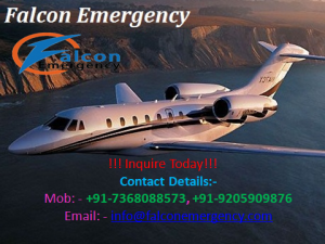 Medical Emergency Air Anbulance Ranchi
