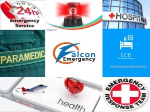 Falcon Ememrgency Air Ambulance from Guwahati