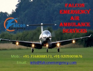Emergency Air Ambulance by Falcion in Bangalore